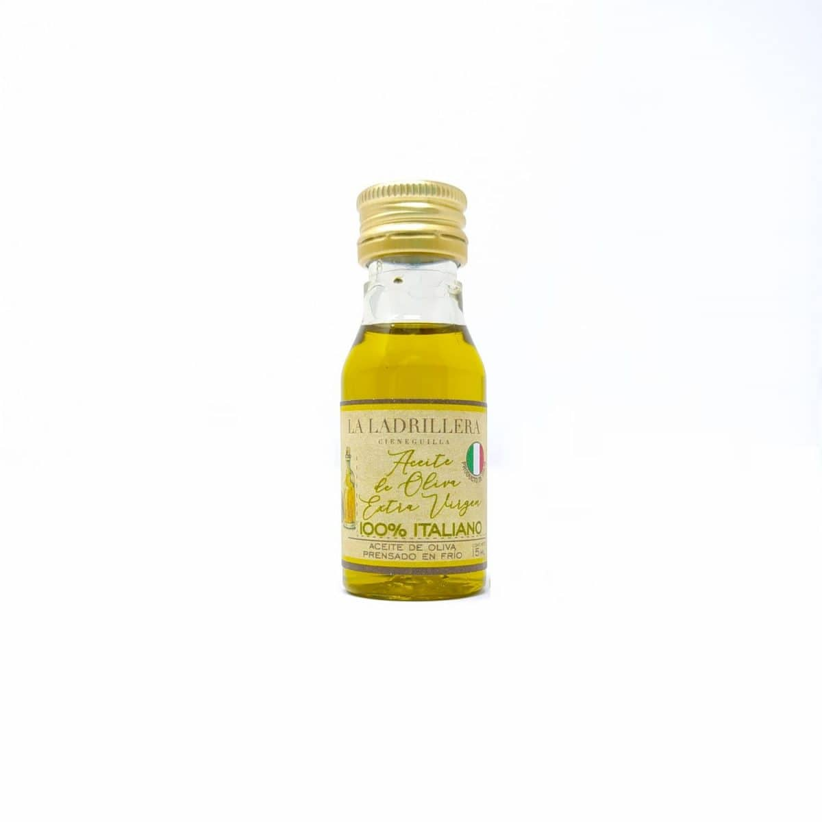 Aceite de oliva extra virgen italiano, 15 ml15 ml