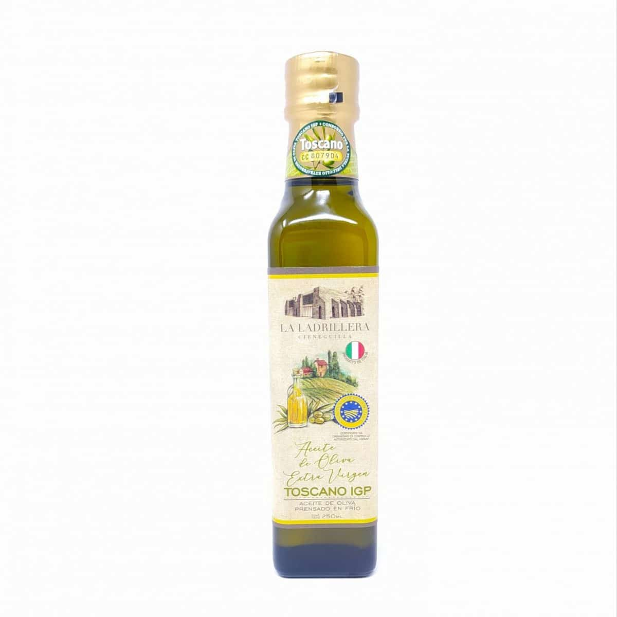 Aceite de Oliva Extra Virgen Toscano IGP, 250ml
