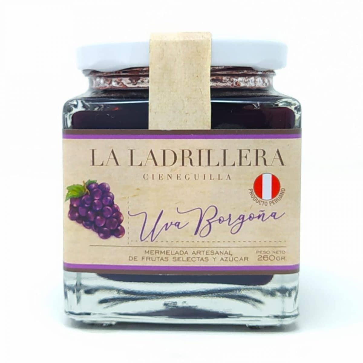 mermelada de Uva Borgoña