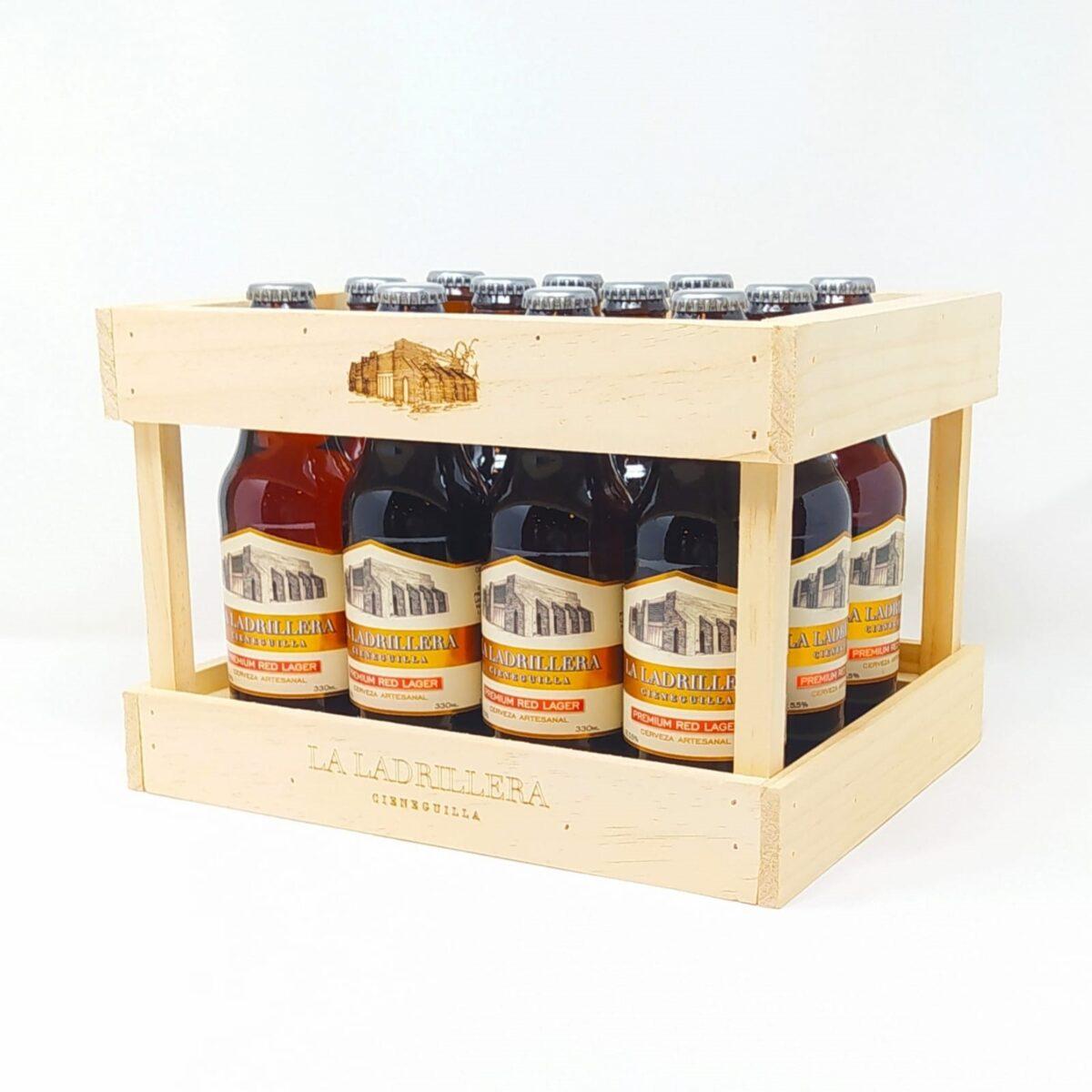 Pack 12 Cerveza Artesanal Premium Red Lager 330 ml