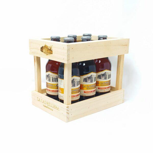 Pack 6 Cerveza Artesanal Premium Red Lager 330 ml