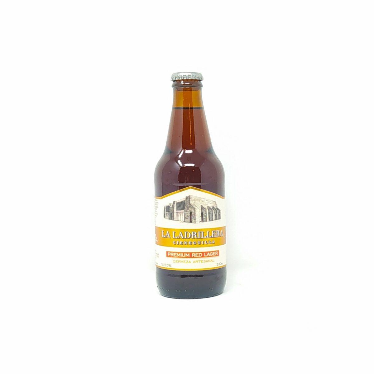 Cerveza Premium Red Lager de 330 ml
